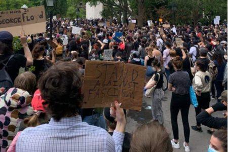 Solidarité avec la jeunesse et le peuple des États-Unis