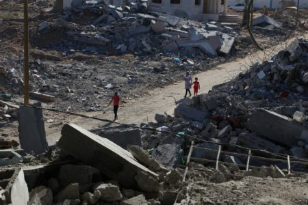 Gaza sous blocus et les bombardements