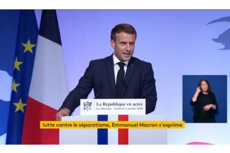 """""""Séparatismes"""": Emmanuel Macron détourne le débat social au prix d'une surenchère xénophobe"""