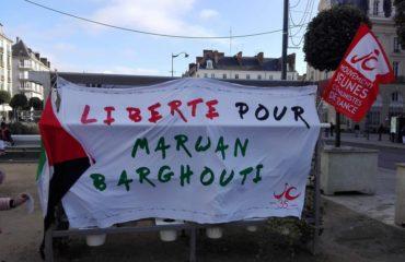 Manifestation pour la liberté de Marwan Barghouti