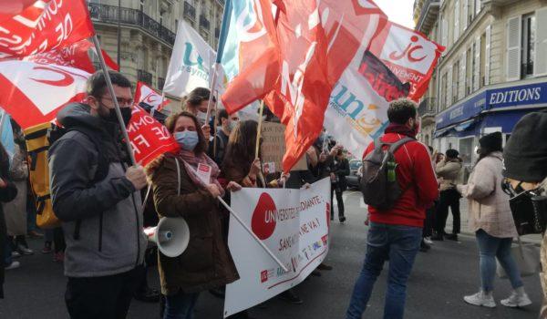Le 26 janvier toutes et tous dans la rue pour défendre le droit à l'éducation